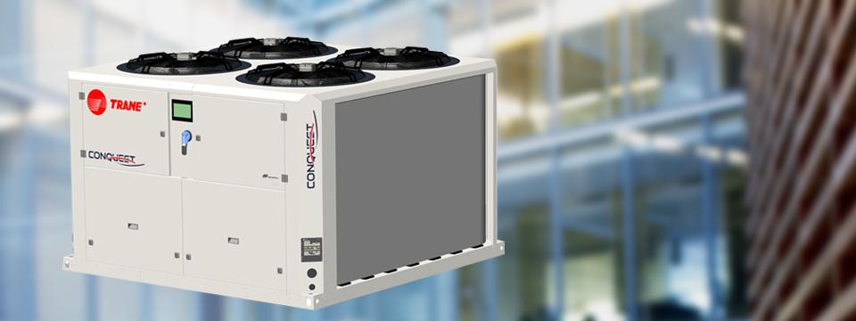 Điều hòa chiller giải nhiệt nước Trane – Conquest CGAX 40-165 kW