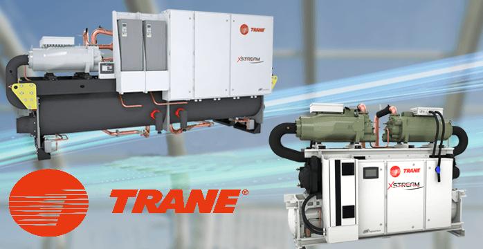 Điều hòa Chiller giải nhiệt nước Trane – XStream RTWF chiller 410-1860 kW